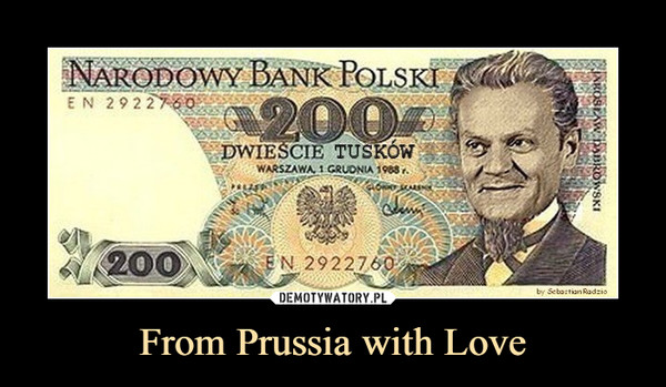 From Prussia with Love –