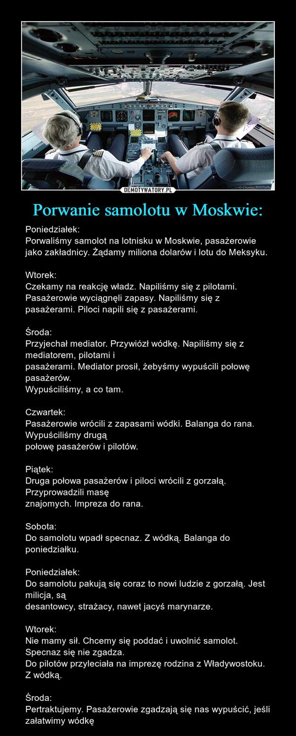 Porwanie samolotu w Moskwie: