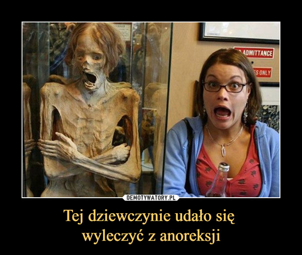 Tej dziewczynie udało się wyleczyć z anoreksji –