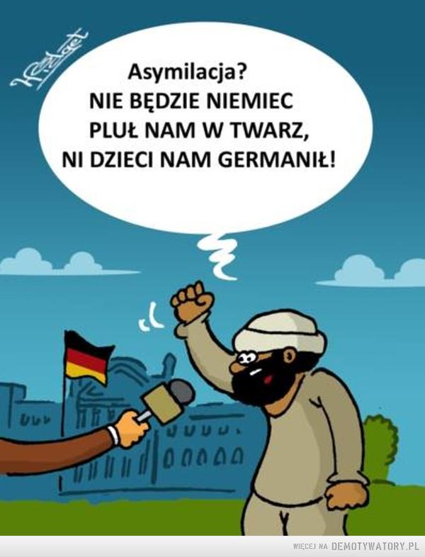 Asymilacja w Niemczech –