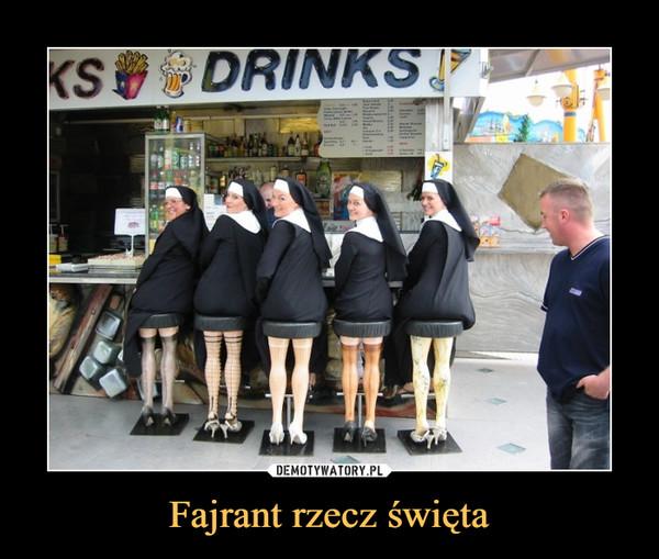 Fajrant rzecz święta –  drinks