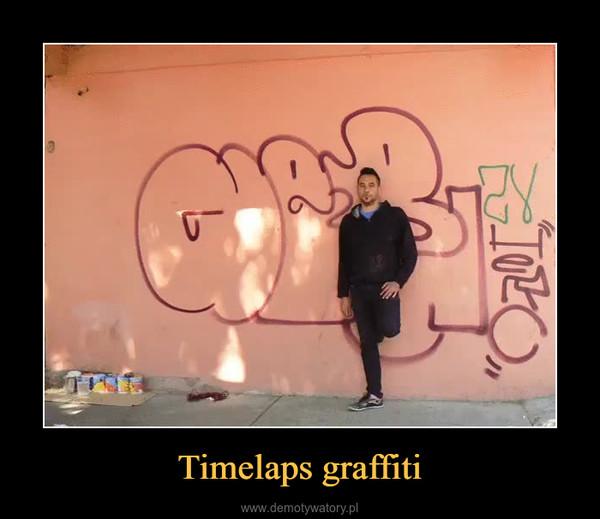 Timelaps graffiti –
