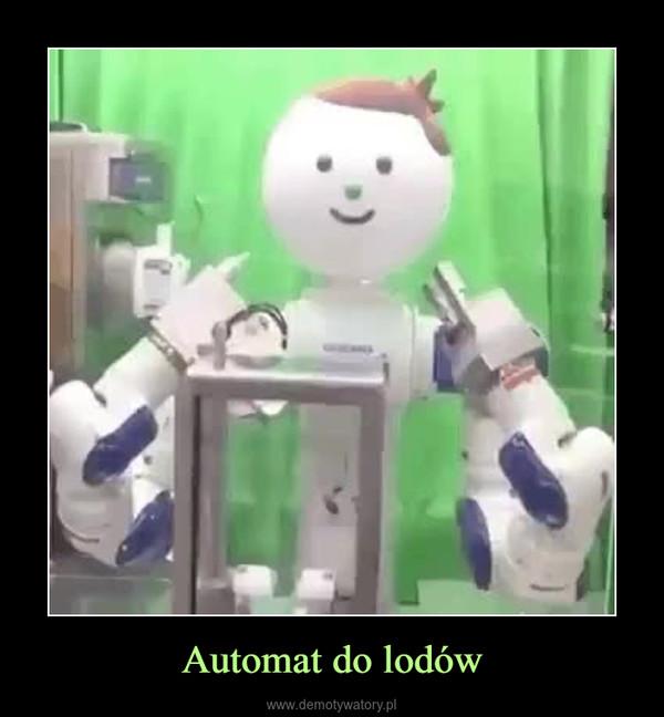 Automat do lodów –