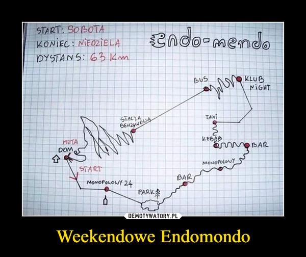 Weekendowe Endomondo –