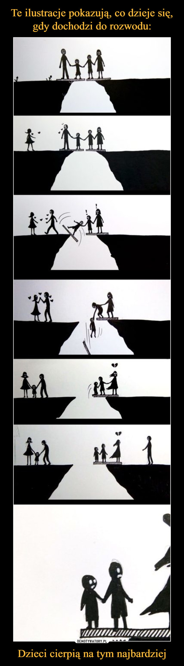 Dzieci cierpią na tym najbardziej –