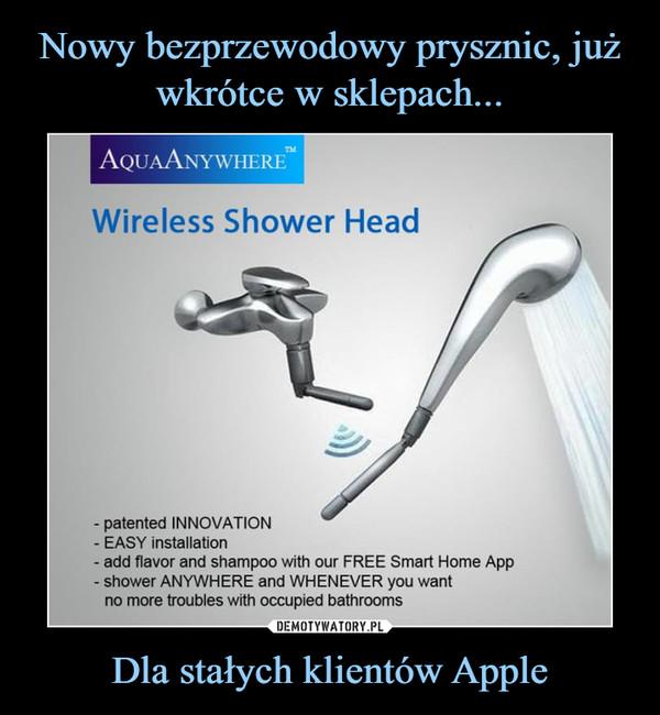 Nowy Bezprzewodowy Prysznic Już Wkrótce W Sklepach Dla Stałych