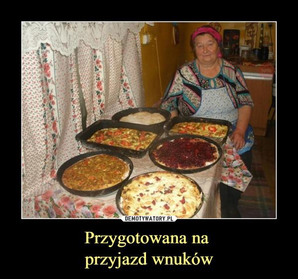 Przygotowana na przyjazd wnuków –