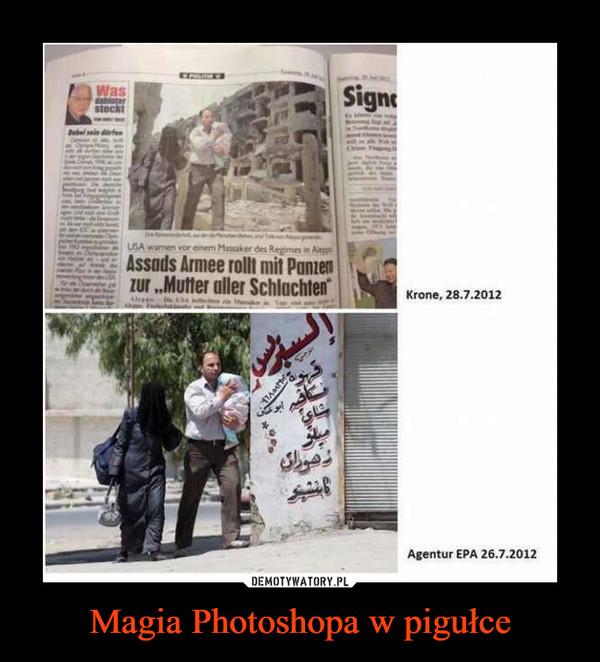 Magia Photoshopa w pigułce –