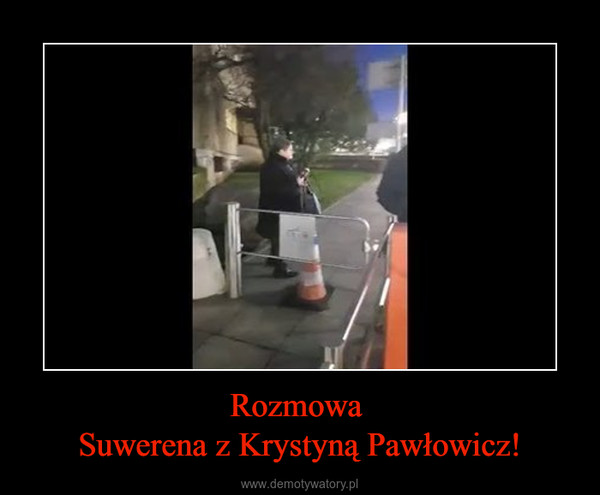 Rozmowa Suwerena z Krystyną Pawłowicz! –