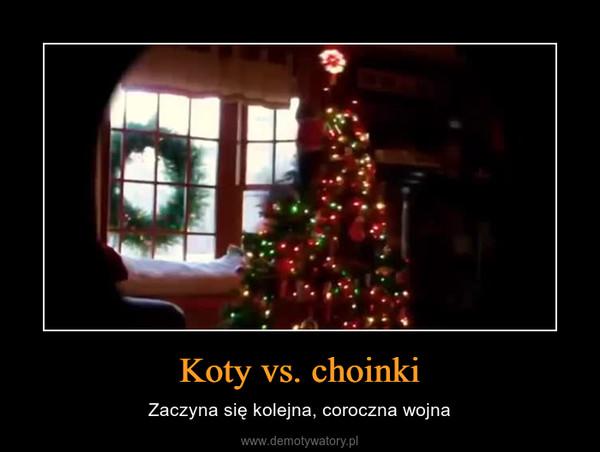 Koty vs. choinki – Zaczyna się kolejna, coroczna wojna