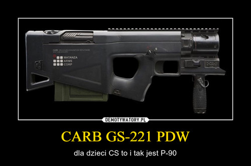 CARB GS-221 PDW