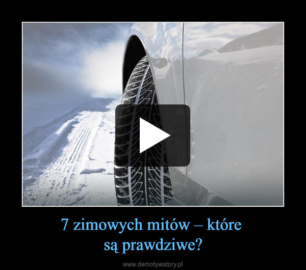 7 zimowych mitów – które są prawdziwe? –