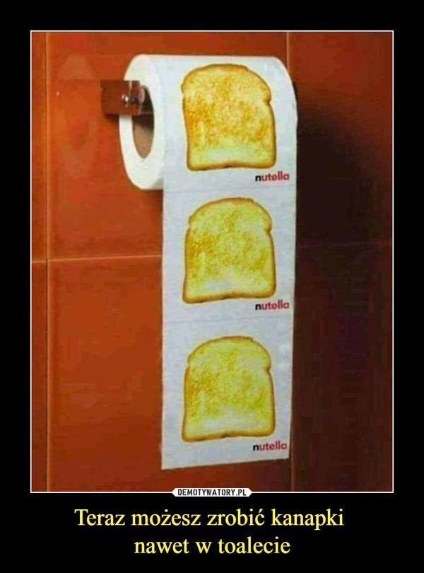 Teraz możesz zrobić kanapki nawet w toalecie –