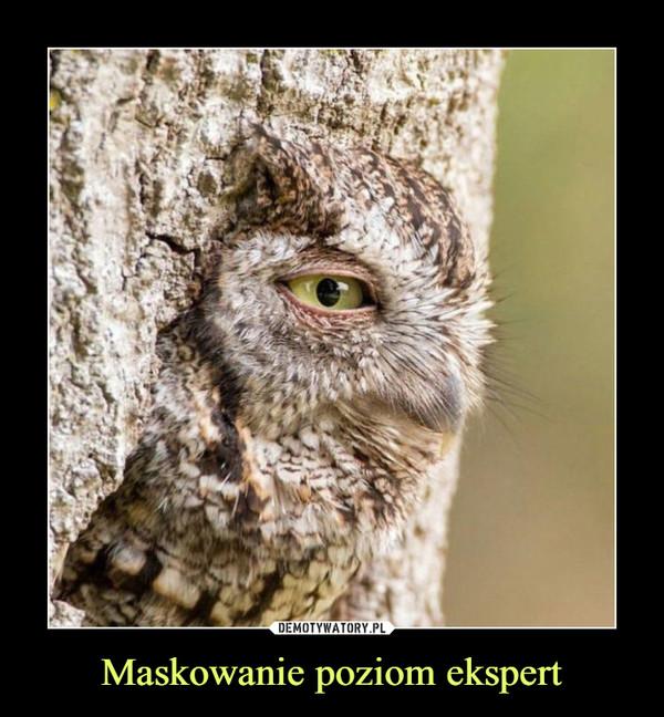 Maskowanie poziom ekspert –
