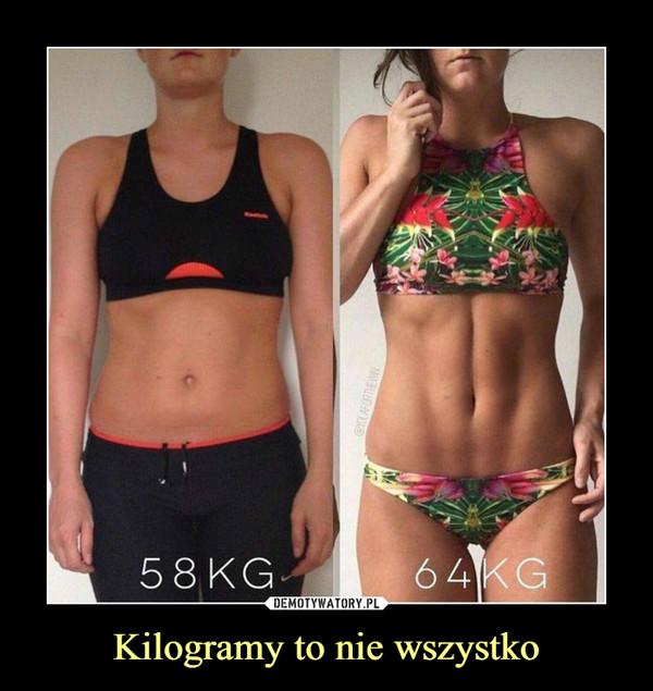 Kilogramy to nie wszystko –