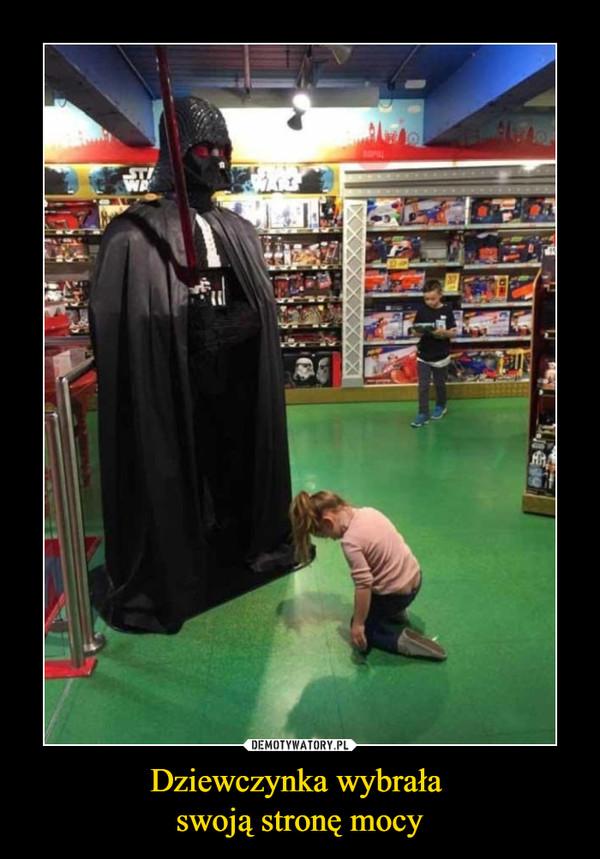 Dziewczynka wybrała swoją stronę mocy –