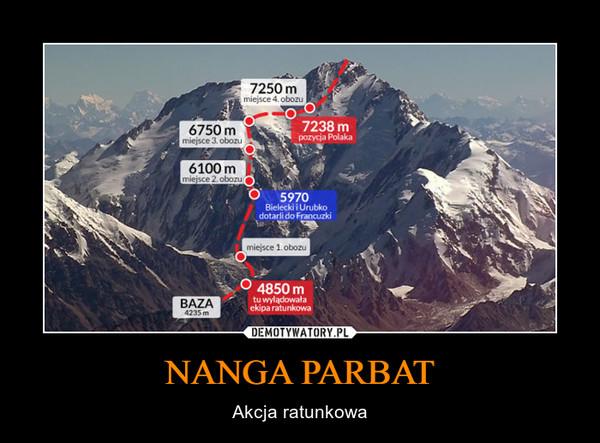 NANGA PARBAT – Akcja ratunkowa