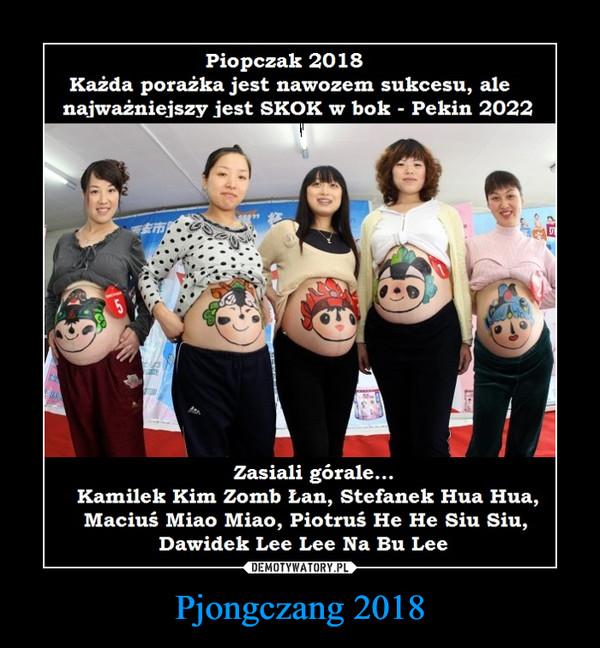 Pjongczang 2018 –
