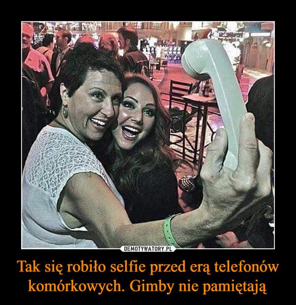 Tak się robiło selfie przed erą telefonów komórkowych. Gimby nie pamiętają –