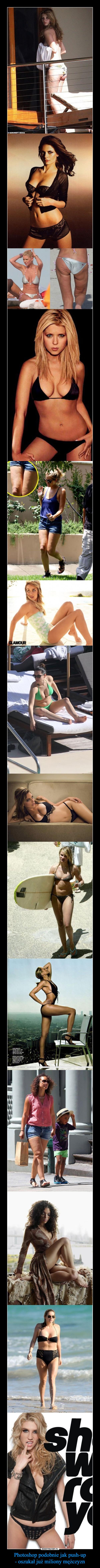 Photoshop podobnie jak push-up- oszukał już miliony mężczyzn –