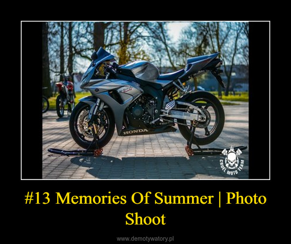 #13 Memories Of Summer | Photo Shoot –