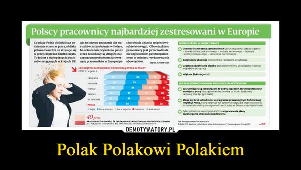 Polak Polakowi Polakiem –