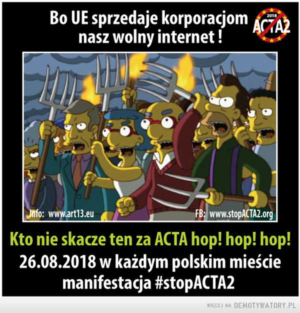 #StopACTA2 –