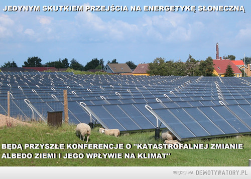 Energetyka słoneczna - albedo ziemi