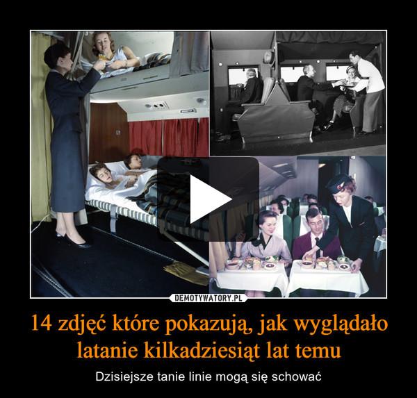 14 zdjęć które pokazują, jak wyglądało latanie kilkadziesiąt lat temu – Dzisiejsze tanie linie mogą się schować