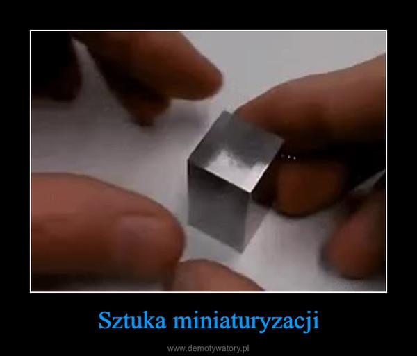Sztuka miniaturyzacji –