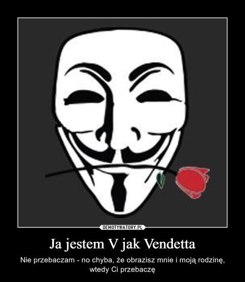 Ja jestem V jak Vendetta