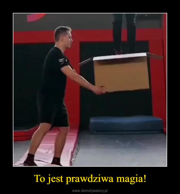 To jest prawdziwa magia! –