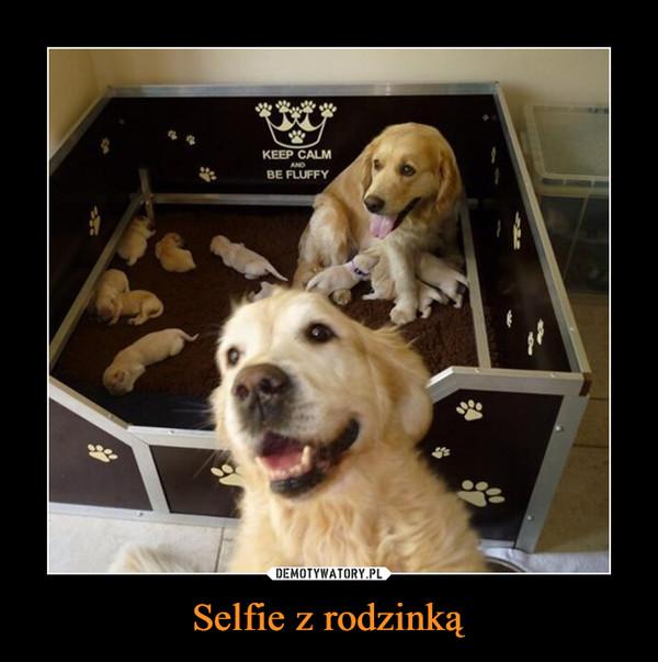 Selfie z rodzinką –