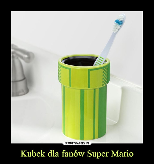 Kubek dla fanów Super Mario –