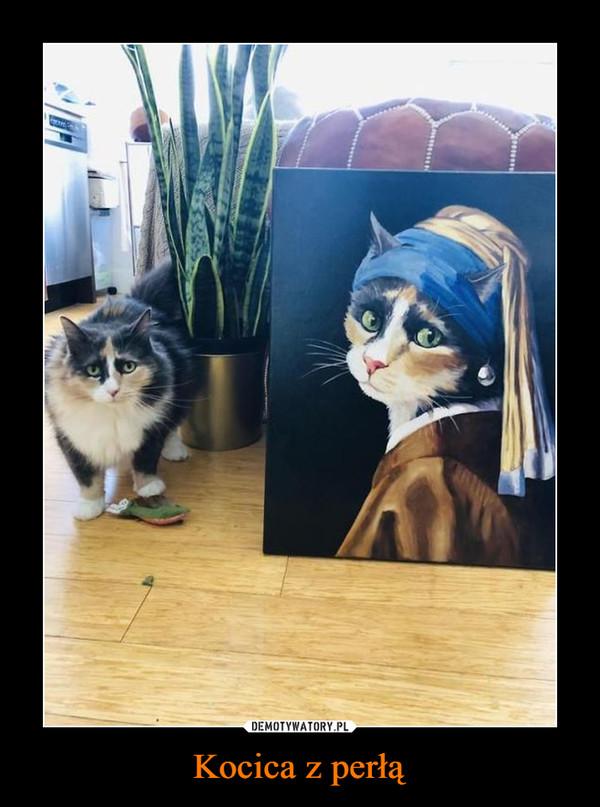 Kocica z perłą –