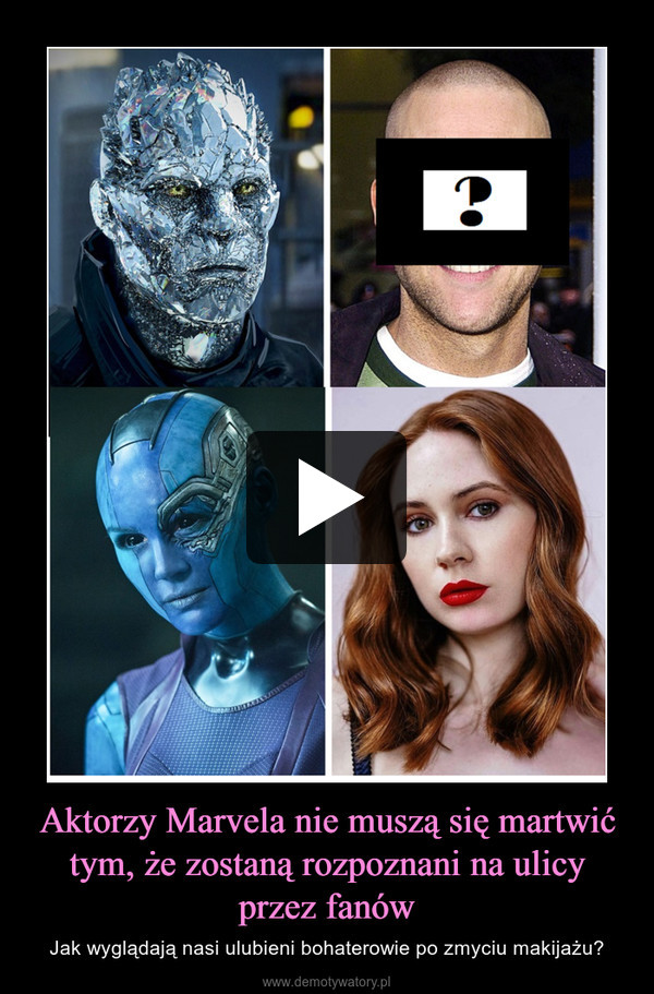 Aktorzy Marvela nie muszą się martwić tym, że zostaną rozpoznani na ulicy przez fanów – Jak wyglądają nasi ulubieni bohaterowie po zmyciu makijażu?