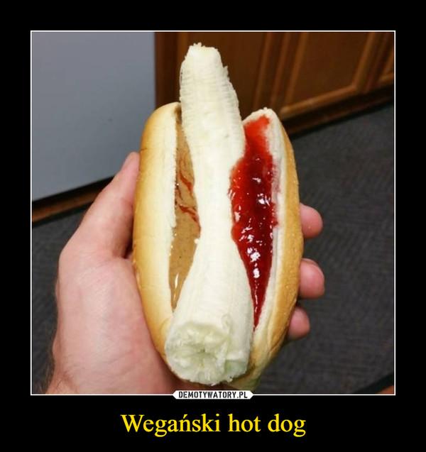 Wegański hot dog –