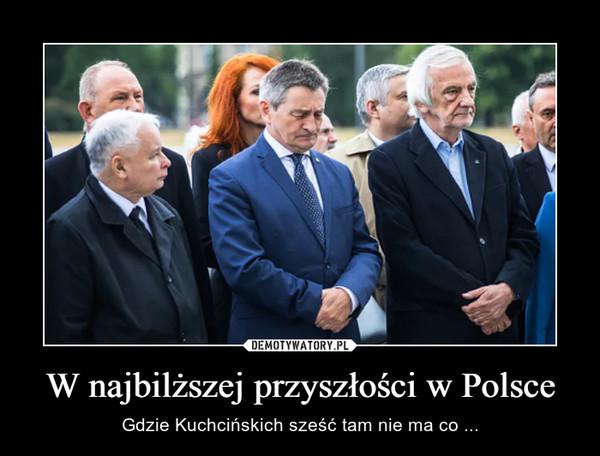 W najbilższej przyszłości w Polsce – Gdzie Kuchcińskich sześć tam nie ma co ...
