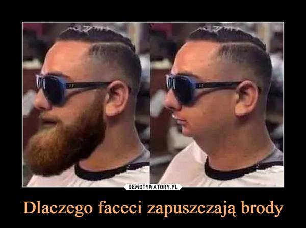 Dlaczego faceci zapuszczają brody –