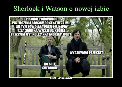 Sherlock i Watson o nowej izbie