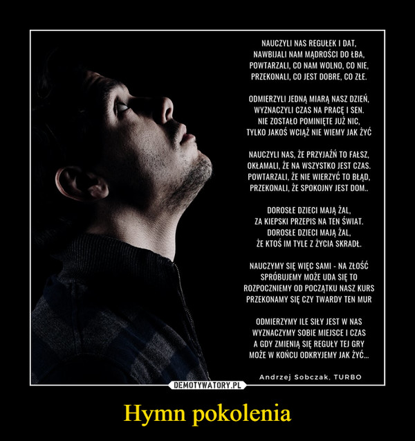 Hymn pokolenia –