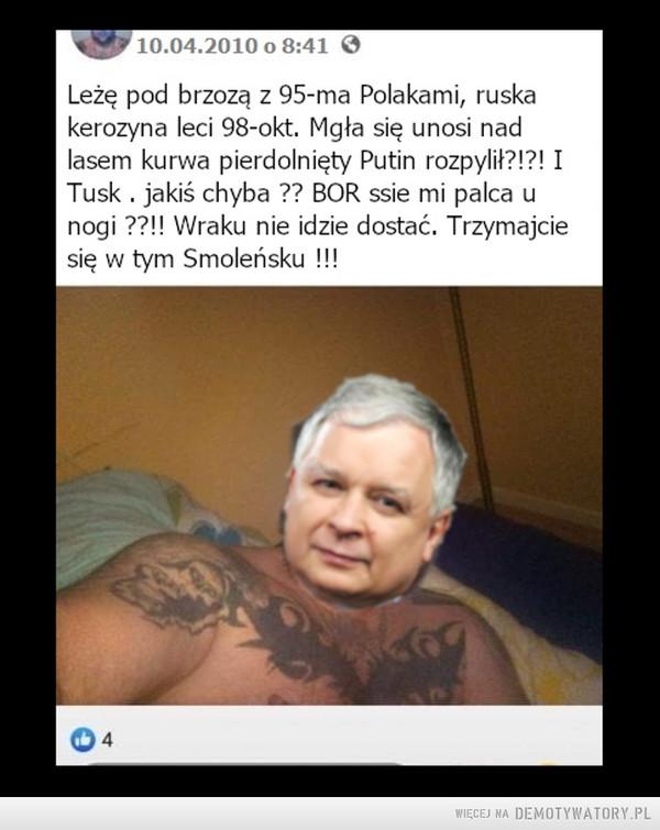 Macierewicz mu dredy zrobił –
