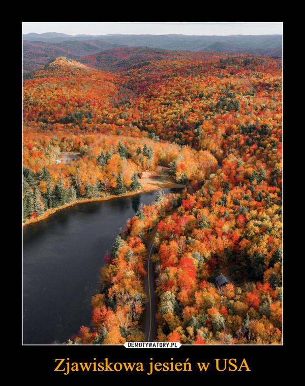 Zjawiskowa jesień w USA –
