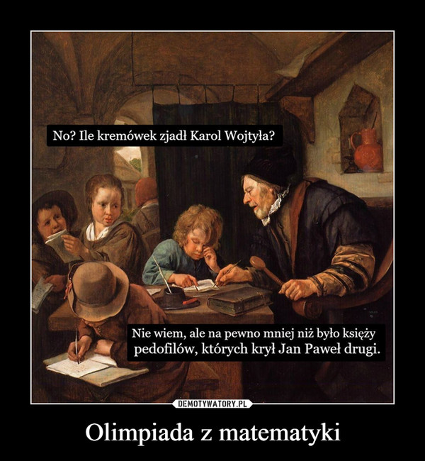 Olimpiada z matematyki –