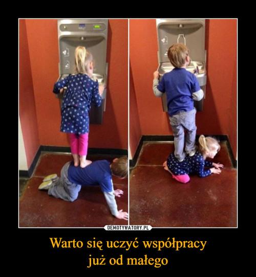 Warto się uczyć współpracy już od małego