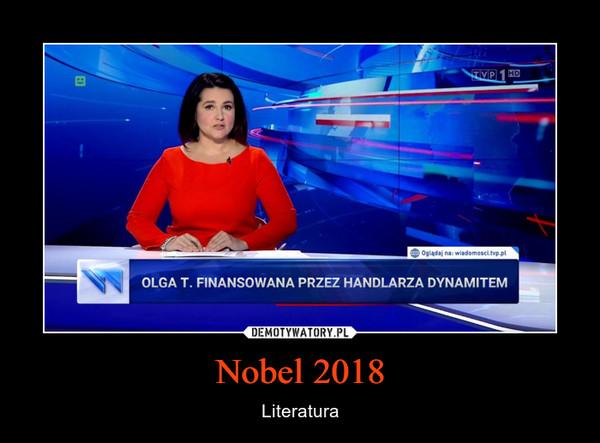 Nobel 2018 – Literatura