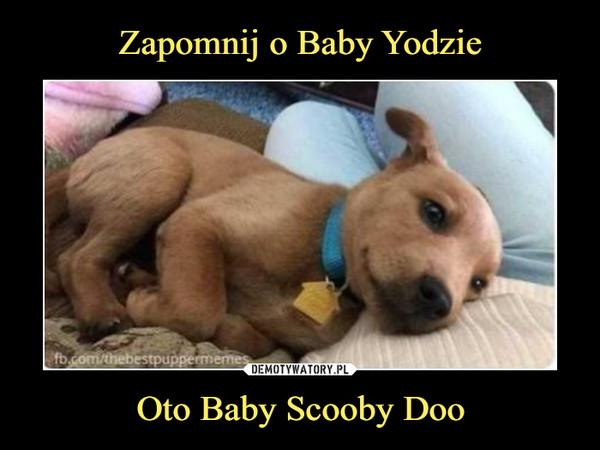 Oto Baby Scooby Doo –