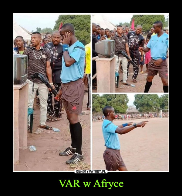 VAR w Afryce –