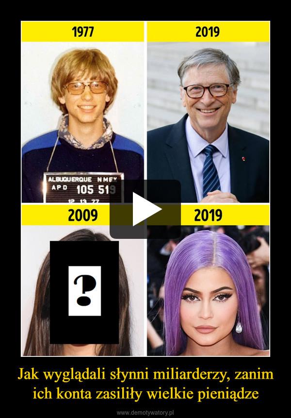 Jak wyglądali słynni miliarderzy, zanim ich konta zasiliły wielkie pieniądze –