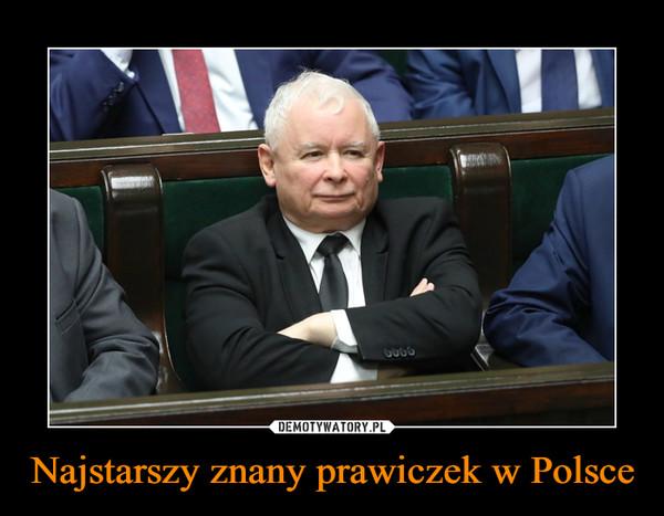 Najstarszy znany prawiczek w Polsce –